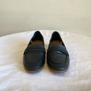Lucky Brand Black Leather Loafer